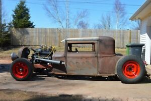 '30 Essex Super Six Coupe Rat Rod, Chopped, Channeled, Sectioned