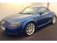 "AUDI TT COUPE 1.8T QUATTRO..LONG MOT..LEATHER..18""ALLOYS..LOOKS+DRIVES GOOD"