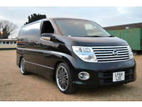FRESH IMPORT 2005 FACE LIFT NISSAN ELGRAND HIGHWAY STAR V6 AUTOMATIC PEARL BLACK