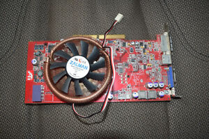 Video Card - ATI/AMD Radeon X800XL AGP 256 MB DDR3