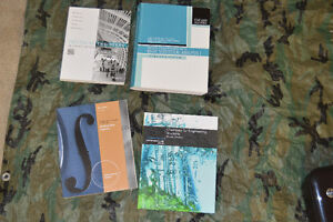 For Sale: Several textbooks