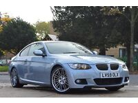 BMW 335d M-Sport Coupe, Full BMW S/H, 12mth MOT, Remap