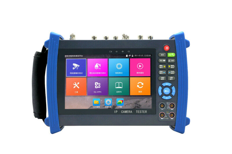 "7""Touch Screen TVI CVI AHD HDMI WIFI Multi-functions CCTV Tester IPC-8600 Series"