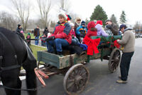 Horse drawn Wagon rides sleigh rides country birthday parties