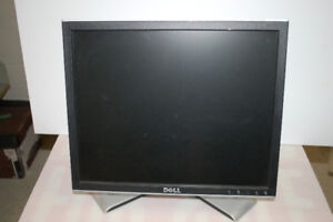 """Dell 17"""" monitor, fully adjustable stand"""