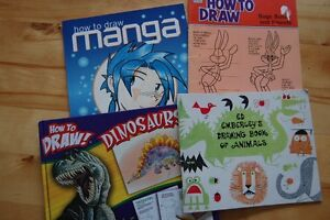 4 How to Draw Books for Kids