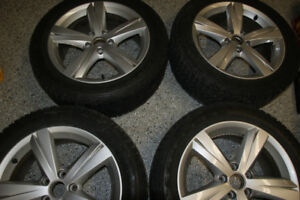 """Set of 17"""" OEM VW RIMS with FireStone Tires  for Sale"""