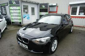 2014 BMW 1 SERIES 116D EFFICIENTDYNAMICS LOW MILES HATCHBACK DIESEL