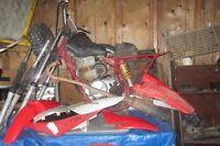 Dirt bike frame