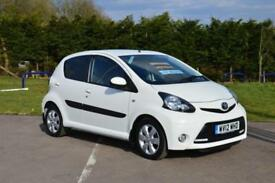 2012 TOYOTA AYGO 1.0 VVT i Fire 5dr [AC] MMT Automatic LOW MILES