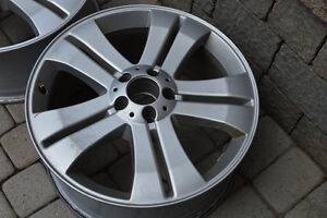 OEM Mercedes GL Rims - Ready for your winter tires
