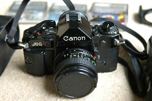 Camera Canon A1 35mm Film SLR (Legendary)