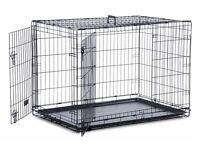 Large dog cage available in good condition