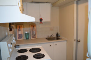 One Bedroom Partially Furnished Basement For Rent-Finch & Darcel