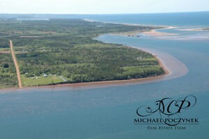 Grand Tracadie PEI 36 acres with waterfrontage