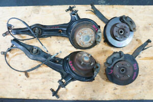 Acura Integra disc Brake Trailing Arms Spindles Hubs Complete