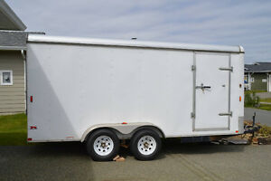 7 x 16 enclosed cargo trailer