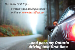 Driving lessons on exam routes. All Etobicoke Exam Routes