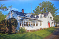 RiverFront Home with Beautiful Land close to Skiing and Lakes