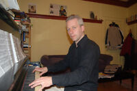 Cours de piano, chant, composition, accompagnement