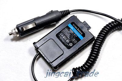 12V DC Car Battery Eliminator for Baofeng UV-5R TYT TH-F8 Radio Dc Battery Eliminator