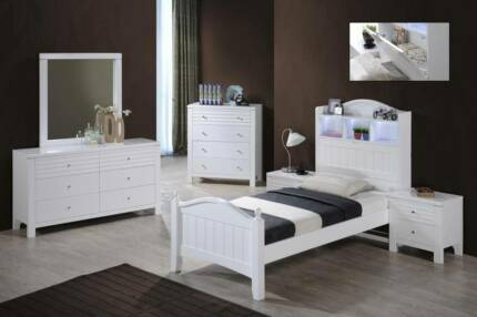 Available at Midvale showroom only Dora King Single Bed Frame