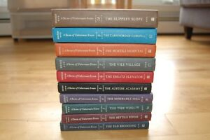 Books 1-10 - A Series of Unfortunate Events