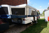 Coleman Americana Bayside CP Tent trailer