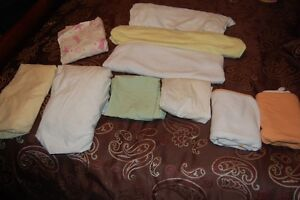 Crib Sheets, Bassinet Sheets, Change Pad Sheets and Towels