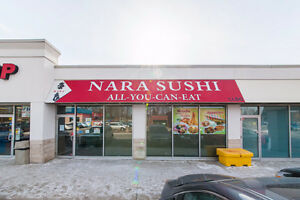 Famous Sushi restaurant for sale in Kitchener