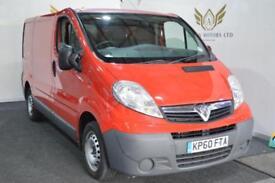 Vauxhall Vivaro 2.0CDTI ( 90ps ) 2011MY 2700 CREW CAB NO VAT