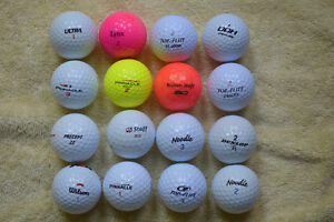 Pinnacle, Noodle, Top Flite etc. golf balls in exc. condition