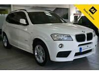2013 13 BMW X3 2.0 XDRIVE20D M SPORT 5D 181 BHP DIESEL