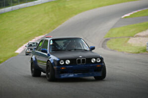 BMW 325ix turbocharged track car