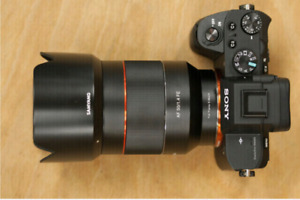 Rokinon 50mm F1.4 for Sony e-mount