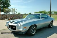 WANTED 1970 CAMARO Z28 OR RS/SS SPLIT BUMPER CAR