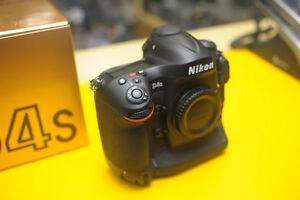 Nikon D4s body (12,712 low actuations) + 32gb XQD 1100x card