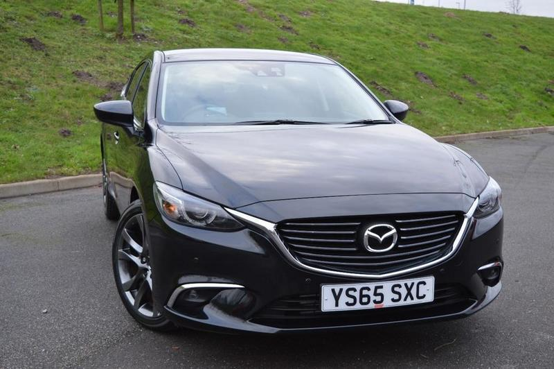 mazda 6 sport nav 4 door black 2016 in mansfield nottinghamshire gumtree. Black Bedroom Furniture Sets. Home Design Ideas