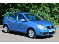 2006 VOLKSWAGEN POLO 1.2 S 64 5dr VERY LOW MILEAGE