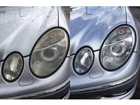 Headlight Restoration, Toyota RAV4 2001, 2002,2003, 2004, 2005, 2006, 2007