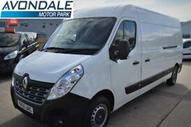 2015 RENAULT MASTER LM35 LWB BUSINESS VAN WITH SAT NAV AND AIR-CON PANEL VAN DIE