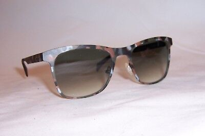 NEW ITALIA INDEPENDENT SUNGLASSES I-METAL 0024 093 MILITARY GREEN GRAY AUTHENTIC