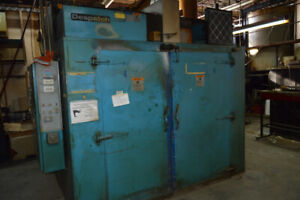 Despatch - BIG electrical batch oven / Four walk in