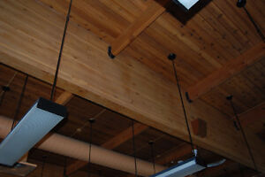 Cedar Glulam and Cedar Beams