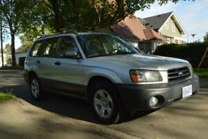 2004 Subaru Forester 2.5X All Wheel Drive