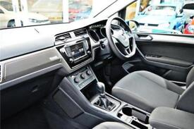 2017 Volkswagen Touran S 1.6 TDI BMT 115PS 7-speed DSG 5 Door Diesel blue Semi A