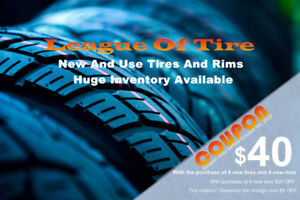 Winter Tires and Rims Blow Out Sale!