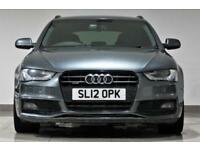 2012 Audi A4 Avant 3.0TDI 245bhp S Tronic Quattro Black Edition-PX -SWAP-FINANCE
