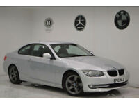 2010 BMW 3 SERIES 320 2.0 D auto SE+FACELIFT+SATNAV+2 KEYS+1 YEAR MOT+PX M SPORT