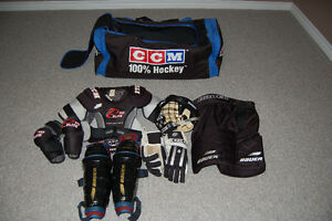 Hockey Equipment in excellent condition CHEAP !!!!!